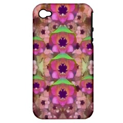 It Is Lotus In The Air Apple iPhone 4/4S Hardshell Case (PC+Silicone)
