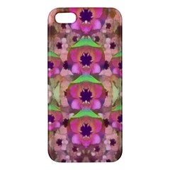 It Is Lotus In The Air Apple iPhone 5 Premium Hardshell Case