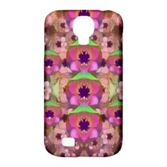 It Is Lotus In The Air Samsung Galaxy S4 Classic Hardshell Case (PC+Silicone)