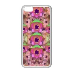 It Is Lotus In The Air Apple iPhone 5C Seamless Case (White)