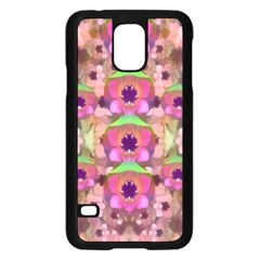 It Is Lotus In The Air Samsung Galaxy S5 Case (Black)