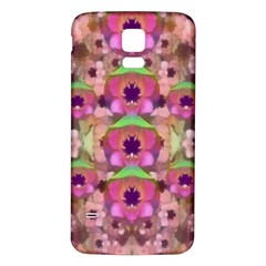 It Is Lotus In The Air Samsung Galaxy S5 Back Case (White)