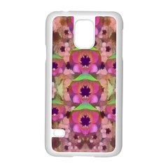 It Is Lotus In The Air Samsung Galaxy S5 Case (White)