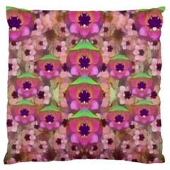 It Is Lotus In The Air Standard Flano Cushion Case (Two Sides)
