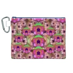 It Is Lotus In The Air Canvas Cosmetic Bag (XL)