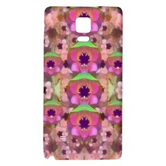 It Is Lotus In The Air Galaxy Note 4 Back Case
