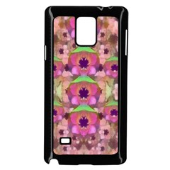 It Is Lotus In The Air Samsung Galaxy Note 4 Case (Black)