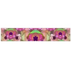 It Is Lotus In The Air Flano Scarf (Large)