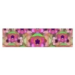 It Is Lotus In The Air Satin Scarf (Oblong)