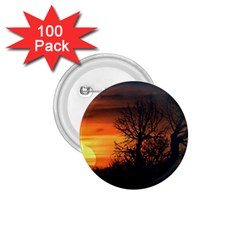 Sunset At Nature Landscape 1.75  Buttons (100 pack)
