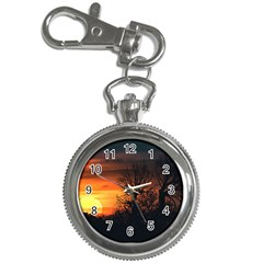 Sunset At Nature Landscape Key Chain Watches