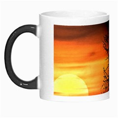 Sunset At Nature Landscape Morph Mugs