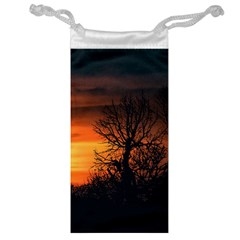 Sunset At Nature Landscape Jewelry Bag