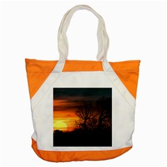 Sunset At Nature Landscape Accent Tote Bag
