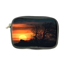 Sunset At Nature Landscape Coin Purse
