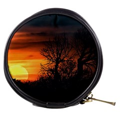 Sunset At Nature Landscape Mini Makeup Bags