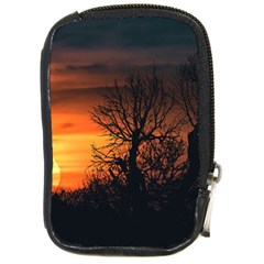 Sunset At Nature Landscape Compact Camera Cases