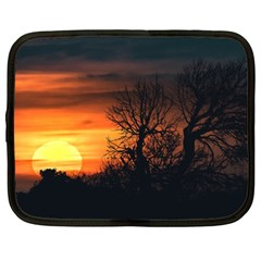 Sunset At Nature Landscape Netbook Case (XXL)