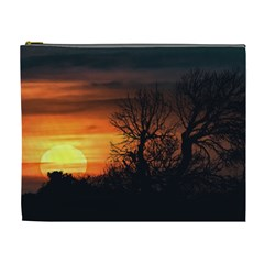 Sunset At Nature Landscape Cosmetic Bag (XL)