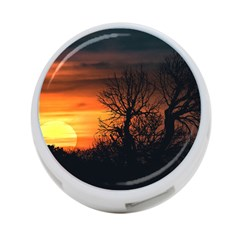 Sunset At Nature Landscape 4-Port USB Hub (Two Sides)