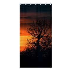 Sunset At Nature Landscape Shower Curtain 36  x 72  (Stall)