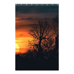 Sunset At Nature Landscape Shower Curtain 48  x 72  (Small)