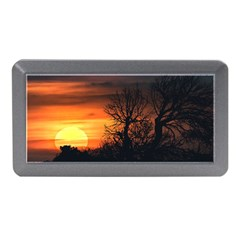 Sunset At Nature Landscape Memory Card Reader (Mini)