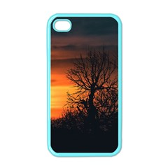 Sunset At Nature Landscape Apple iPhone 4 Case (Color)