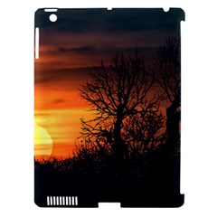 Sunset At Nature Landscape Apple iPad 3/4 Hardshell Case (Compatible with Smart Cover)