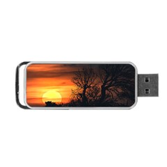 Sunset At Nature Landscape Portable USB Flash (One Side)