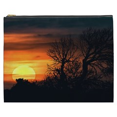 Sunset At Nature Landscape Cosmetic Bag (XXXL)