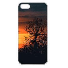 Sunset At Nature Landscape Apple Seamless iPhone 5 Case (Clear)