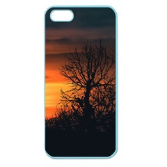 Sunset At Nature Landscape Apple Seamless iPhone 5 Case (Color)