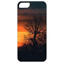 Sunset At Nature Landscape Apple iPhone 5 Classic Hardshell Case