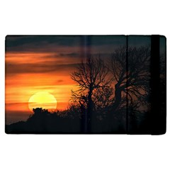 Sunset At Nature Landscape Apple iPad 3/4 Flip Case