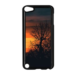 Sunset At Nature Landscape Apple iPod Touch 5 Case (Black)