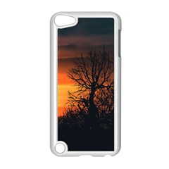 Sunset At Nature Landscape Apple iPod Touch 5 Case (White)
