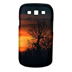 Sunset At Nature Landscape Samsung Galaxy S III Classic Hardshell Case (PC+Silicone)