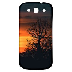 Sunset At Nature Landscape Samsung Galaxy S3 S III Classic Hardshell Back Case