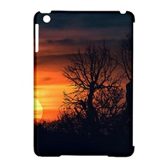 Sunset At Nature Landscape Apple iPad Mini Hardshell Case (Compatible with Smart Cover)
