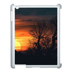 Sunset At Nature Landscape Apple iPad 3/4 Case (White)
