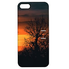 Sunset At Nature Landscape Apple iPhone 5 Hardshell Case with Stand