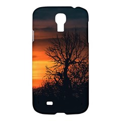 Sunset At Nature Landscape Samsung Galaxy S4 I9500/I9505 Hardshell Case