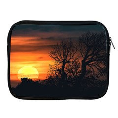 Sunset At Nature Landscape Apple iPad 2/3/4 Zipper Cases