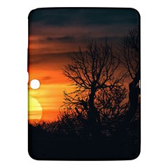 Sunset At Nature Landscape Samsung Galaxy Tab 3 (10.1 ) P5200 Hardshell Case