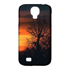 Sunset At Nature Landscape Samsung Galaxy S4 Classic Hardshell Case (PC+Silicone)