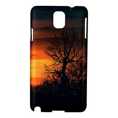 Sunset At Nature Landscape Samsung Galaxy Note 3 N9005 Hardshell Case