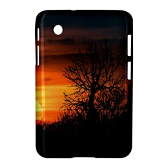 Sunset At Nature Landscape Samsung Galaxy Tab 2 (7 ) P3100 Hardshell Case