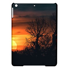 Sunset At Nature Landscape iPad Air Hardshell Cases