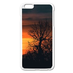 Sunset At Nature Landscape Apple iPhone 6 Plus/6S Plus Enamel White Case